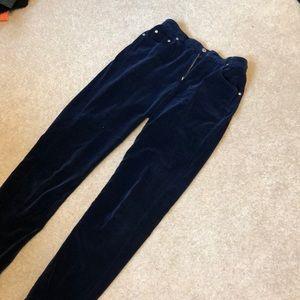 Liz Claiborne velvet jeans